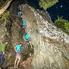 49. Chase Gatland on a semi-nocturnal ascent of The Stronghold's prow (24); Gonzalo Nido on belay
