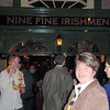 Dinner on our first night at the Nine Fine Irishmen pub, named after Greg's great great grandfather!