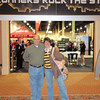 Greg and Deeann at the Rock-n-Roll expo