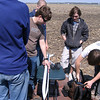 "U of I - Illinois Space Society group preparing their ""Mocket"" Performance Rocketry G3.  Mark Joseph photo."