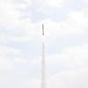 Purdue rocket in flight.  Mark Joseph photo.