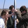 Preparing to fly the ISS rocket.  Mark Joseph photo.
