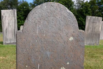 Mrs. Ama Clark, †1786
