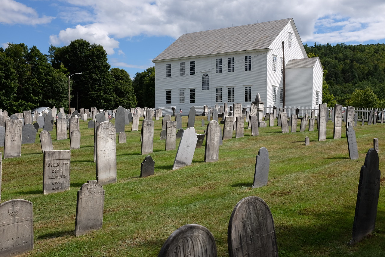 Rockingham Meeting House and cemetery