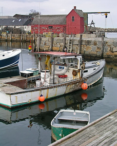 The Tanya L - Rockport Harbor - Rockport,Mass.