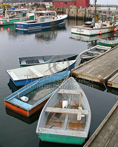 Rowboats - Rockport Harbor - Rockport,Mass.