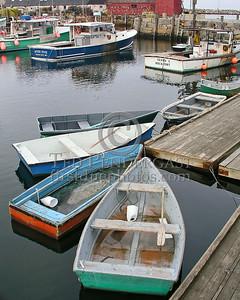 Rowboats - Rockport Harbor - Rockport,Mass.