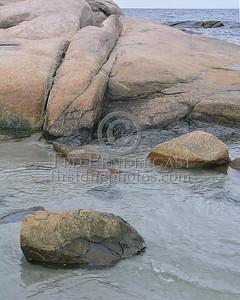 Rocks At Wingaersheek Beach - Gloucester,Mass.