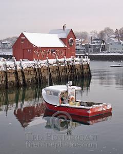 Harbor at Rockport, Massachusetts - 189