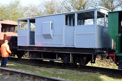 DB993985/RRM194 20t Brake Van    06/04/15