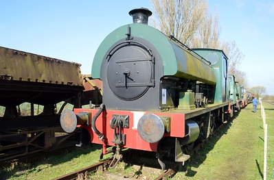 0-6-0S WB 2668 'Cranford No2'    06/04/15