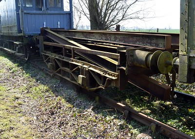 RRM85 15t Side Tipping Dumpcar Chassis    06/04/15