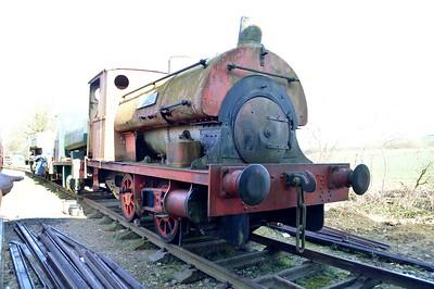0-4-0ST 1257/RRM1 'Uppingham'    06/04/15