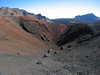 Cinder cone in Haleakala Crater, Maui