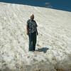 Wild Bob in the summer snow!