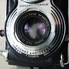This photo shows you the camera serial number (T 2124610) and the Zeiss lens serial number (Nr2697275)<br /> <br /> This beautiful Rolleiflex T1 camera is for sale! Please contact me at mulhollandengel at gmail dot come for more info!<br /> <br /> Specs: Rolleflex T1. Model K8 T1<br /> October 1958 - June 1961, 56,000 pieces<br /> Serials: T2.100.00 - T2.155.999<br /> <br /> Taking Lens:<br /> Tessar 3,5/75mm, by Zeiss Oberkochen, Bayonet 1<br /> Finder lens:<br /> Zeiss Heidosmat 2,8/75mm, Bayonet 1<br /> <br /> Shutter:<br /> Synchro Compur MXV, 1 - 1/500 sec., B, X-sync., self timer.<br /> Film: 120 for 12 exp. 6x6, also (from # 2.151.000 only) 16 exp. 4.5x6<br /> or 4x4 and  35mm adapter Rolleikin 2. Special order: taking 220 film<br /> for 12 or 24 exposures.<br /> Film Transportation: winding lever, film marker in film chamber,<br /> exposure counter for exposures 1-12. Blank film pressure plate.<br /> Can come with or without built on  exposure metering. (This one HAS the meter!)<br /> Dimensions: 11.2x9.7x17.8cm.<br /> Weight: 1,020 grams.