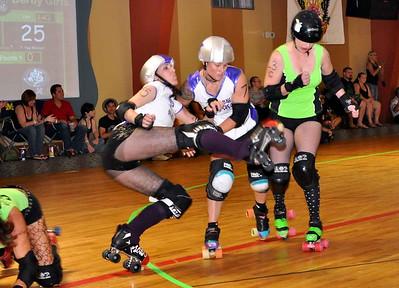 Roller Derby Wreckfest - Palm City Punishers vs Tampa Bay Bruise Crew