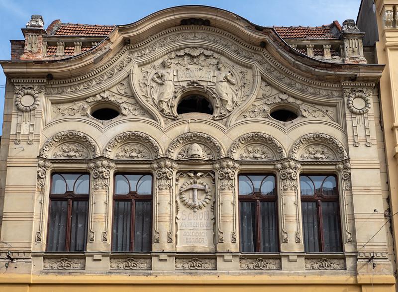 Brasov Art Nouveau Commercial Building