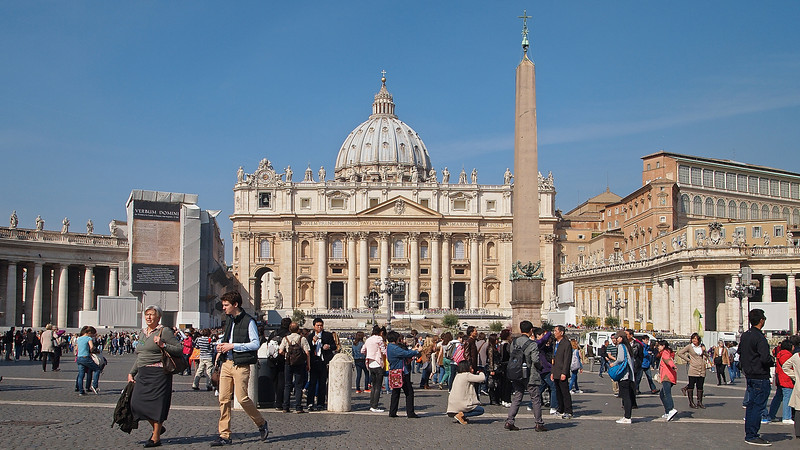 No trip to Rome to should be complete without a trip to the Vatican.
