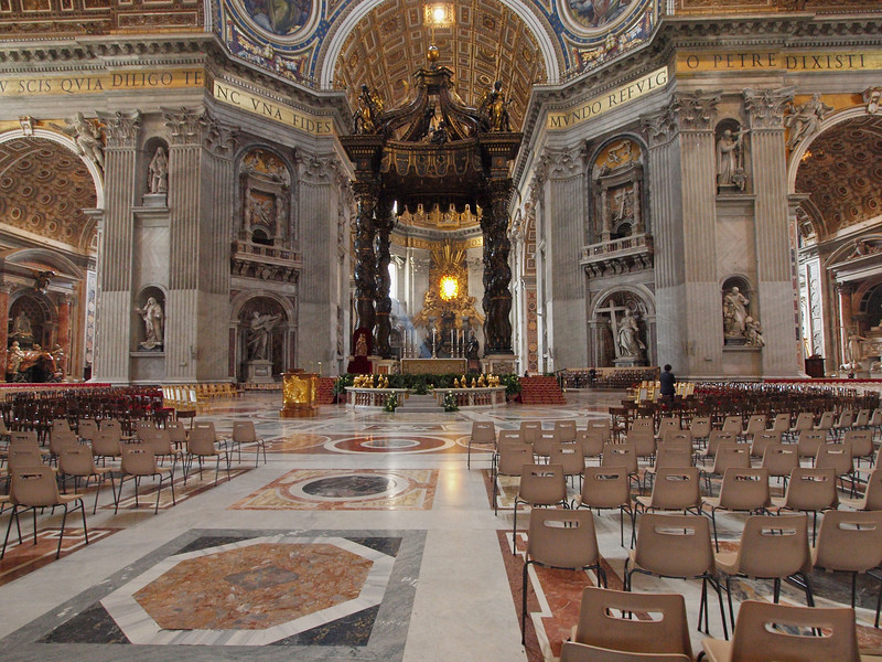 St Peters Basilica.