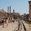 Of course, the Forum is a massive tourist attraction, makig a great place to take photos a not so good place to take photos.