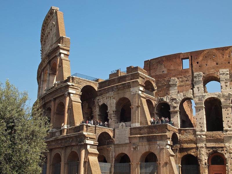 The Colosseum.