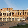 On my way back from a long day of walking, I caught this final, golden hour ultra wide of the Colosseum.