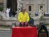 Finger Puppeteer in Piazza Navona