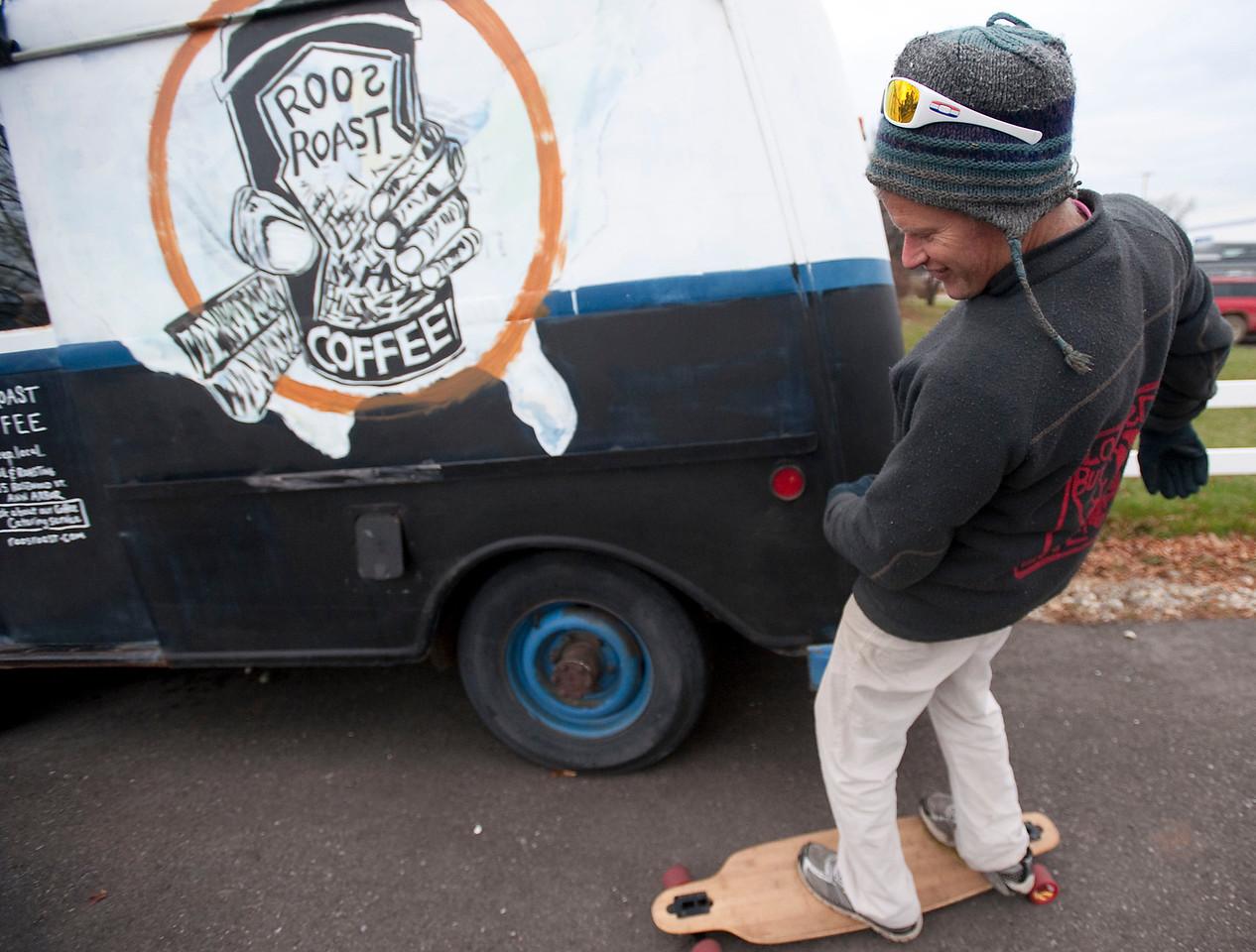 Roos-skateboard