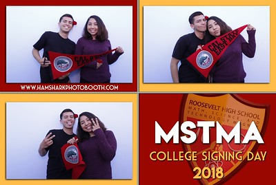 Roosevelt High School MSTMA College Signing Day 2018