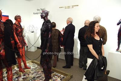 """""""Dry Tears"""" Art Exhibit by Rosalyn Engelman photo by Rob Rich © 2008 robwayne1@aol.com 516-676-3939"""