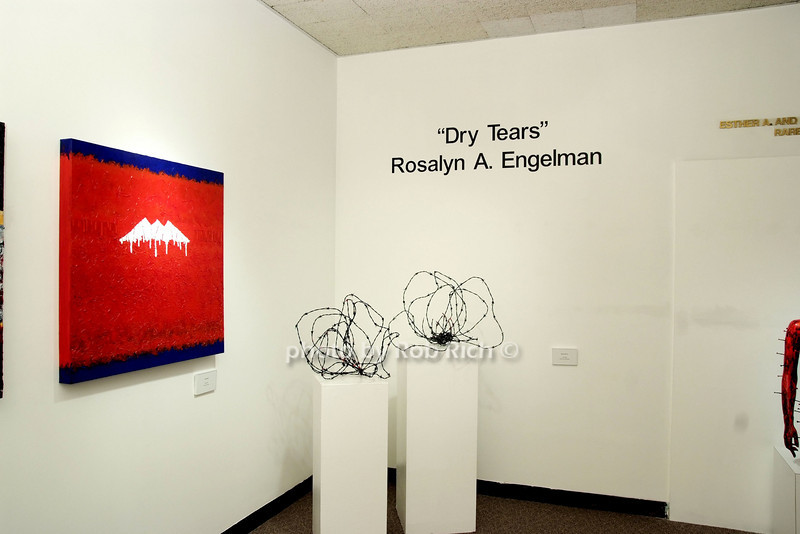 """Dry Tears"" Art Exhibit by Rosalyn Engelman at Hebrew Union College<br /> photo by Rob Rich © 2008 robwayne1@aol.com 516-676-3939"