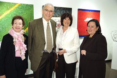Laura Kruger, Les Wurtzel, Judy Wurtzel  Jeannie Rosensaft photo by Rob Rich © 2008 robwayne1@aol.com 516-676-3939