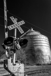 Rail Road Crossing & Silo