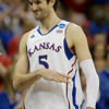 NCAA N Carolina Kansas Basketball
