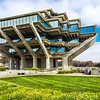 Geisel Library<br /> On the campus of UCSD<br /> Named in honor of Ted Geisel  - AKA Dr. Seuss