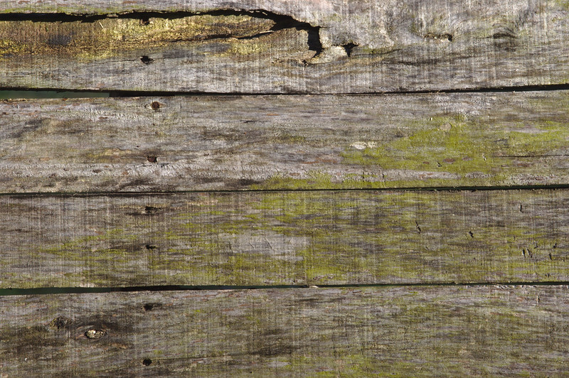 Detail of a weathered wooden pallet