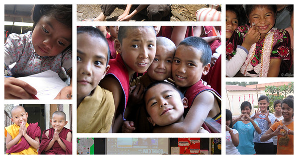 The children I've taught and volunteer projects I've helped with around the world.