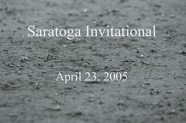 Saratoga Invite April 23, 2005