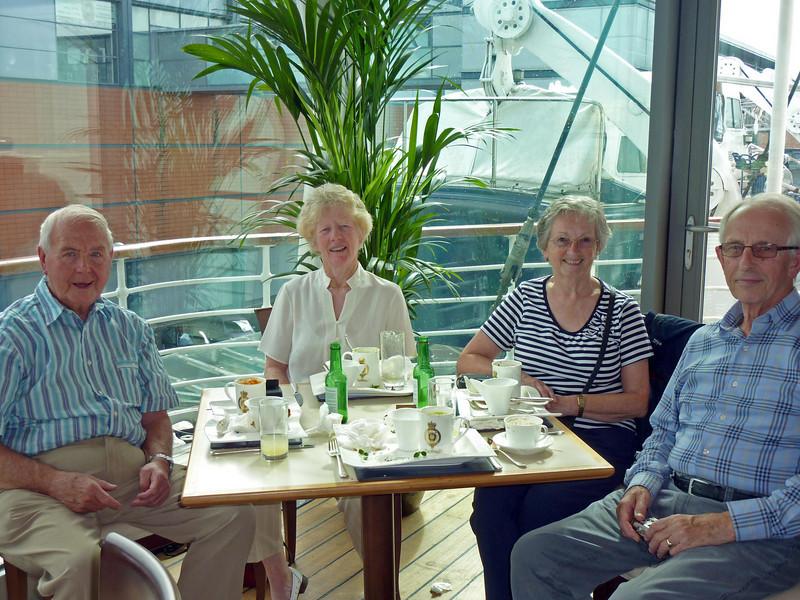 Parsons& carr's on board Britannia 1