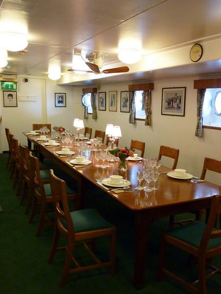 Officer's Dining Room- Brittania