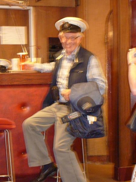 George the Naval man