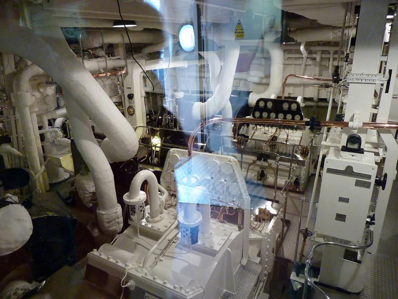 Britannia Engine Room 1