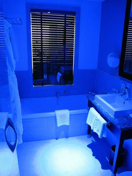 Our lairy bathroom light