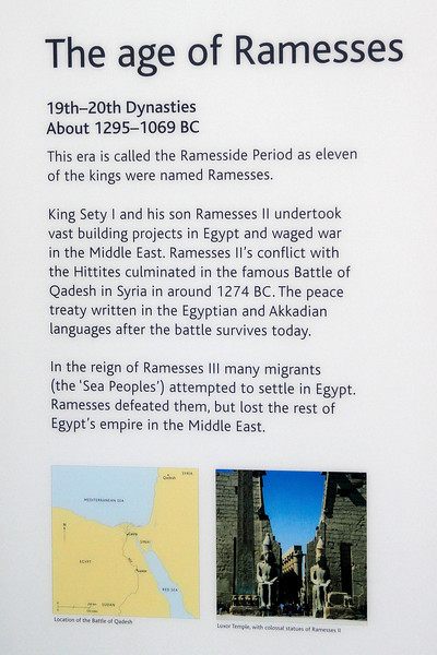 All about Ramesses