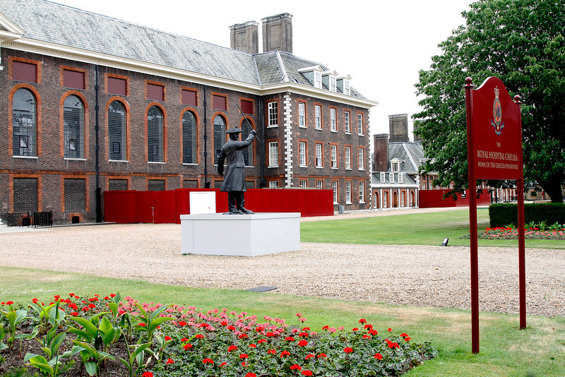 The Royal Hospital Chelsea - home to the Chelsea Pensioners and the Chelsea Flower Show.