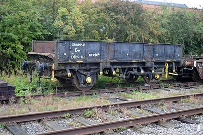 20t Grampus DB991361 at Rushcliffe Halt Sidings  25/08/14.