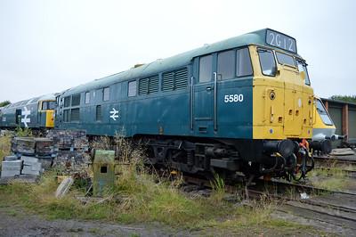 Class 31 5580 (31162)  25/08/14.