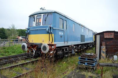 Class 73 E6016 (73110)  25/08/14.