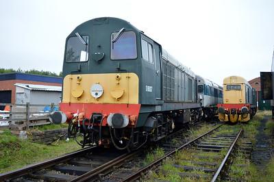 Class 20 D8007 (20007)  25/08/14.